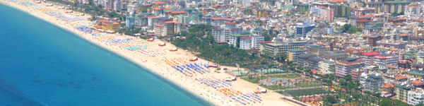 Alanya - Turecko Dovolená a Zájezdy